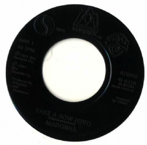 "TAKE A BOW - UK PROMO 7"" VINYL W0278"